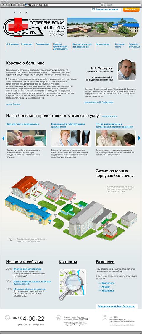 Железнодорожная больница врачи смоленск
